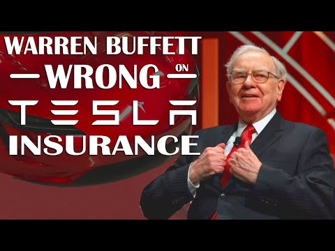 Why Warren Buffett is Wrong about Tesla Insurance