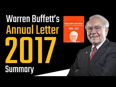Summary of Warren Buffett's annual letter to shareholders 2017 | In Hindi