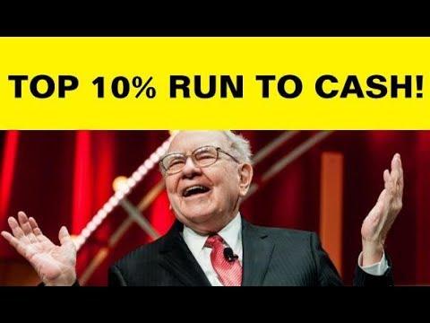 Top 10% Run to Cash, Warren Buffett Prepares, Economic Warning, U.S. Dollar Strong