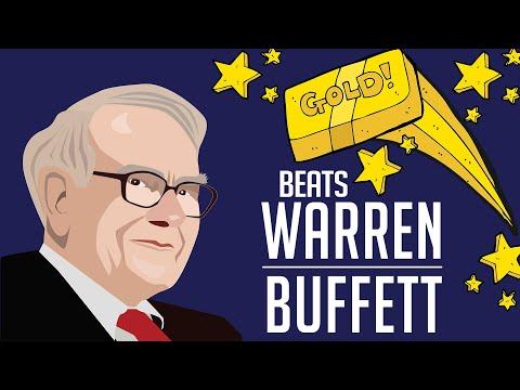 Gold Beats Warren Buffett