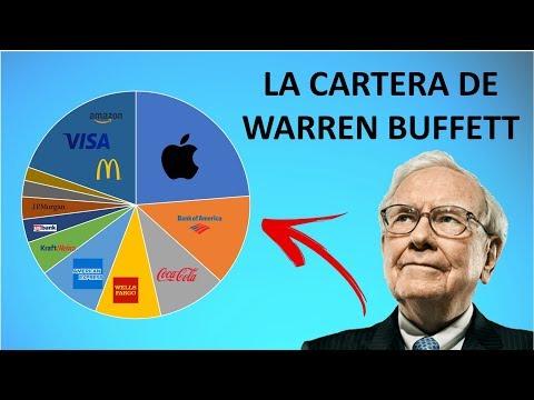 📊 Así es la CARTERA de WARREN BUFFETT | Descubre en que ACCIONES INVIERTE Warren Buffett