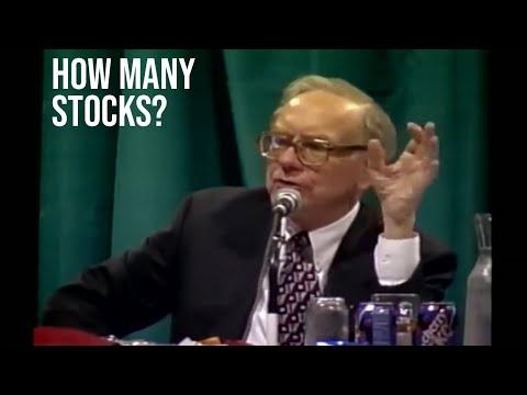 Warren Buffett Explains How Many Stocks You Should Own In Your Portfolio