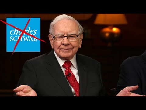 CHARLES SCHWAB JUST BROKE ONE OF WARREN BUFFETT'S BIGGEST RULES