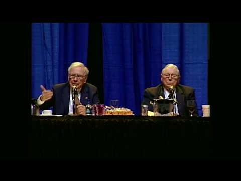 Warren Buffett & Charlie Munger explain what they are looking for in a successor
