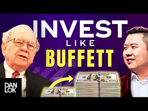 Invest Like Warren Buffett – Warren Buffett's 5 Principles And Rules For Investing