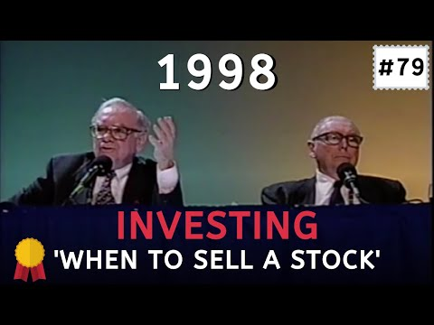 Warren Buffett explains when to sell a stock [Collection: Warren Buffett]