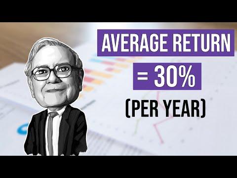 Warren Buffett: How To Achieve A 30% Return Per Year (7 Investing Rules)