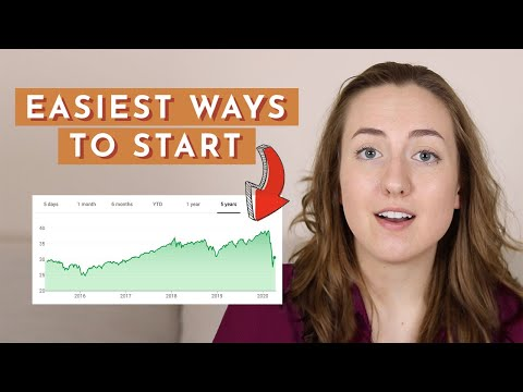 Investing for Beginners – Easiest Ways to Start