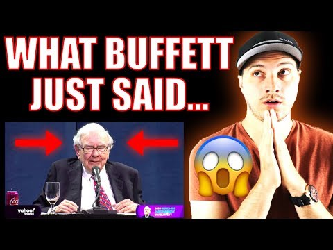 What Warren Buffett Said This Weekend That Should Worry you!