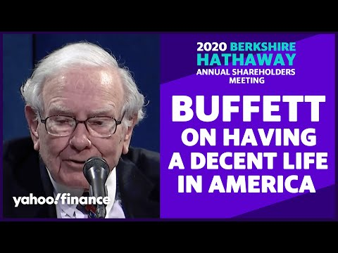 Warren Buffett answers question from actor Bill Murray about health care workers and coronavirus