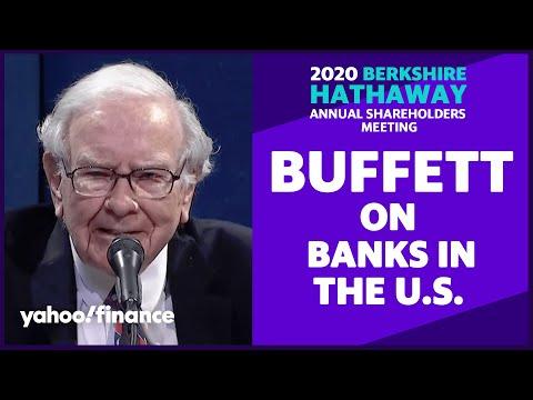 Warren Buffett: America's banks are in good shape now