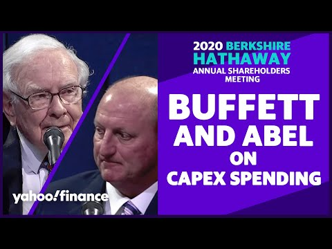 Warren Buffett and Greg Abel discuss Berkshire Hathaway's capital expenditures