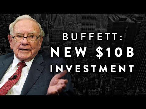 Warren Buffett Just Made a NEW $10B Investment