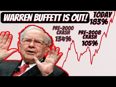 Warren Buffett's Indicator is at Record High Signaling Market is Overvalued | Crash May be Coming!!!