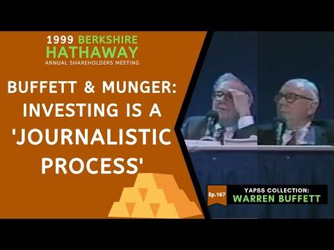 【C:W.B Ep.167】Warren Buffett & Charlie Munger: How to Invest For Beginners | Berkshire Hathaway 1999