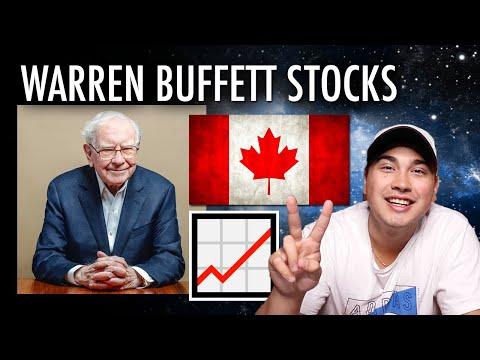 Warren Buffett Owns These Canadian Stocks!