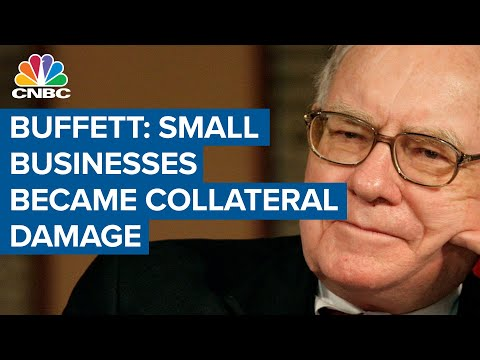 Warren Buffett: Small businesses have become collateral damage during Covid-19 pandemic