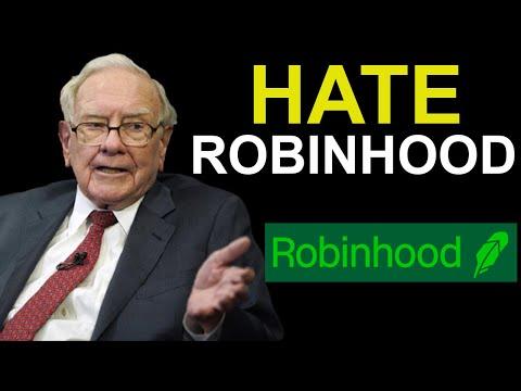 Warren Buffett: Why I HATE Robinhood? (UNBELIEVABLE)