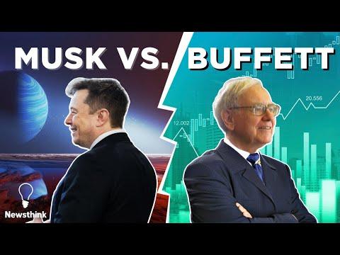 Why Elon Musk and Warren Buffett Don't Get Along