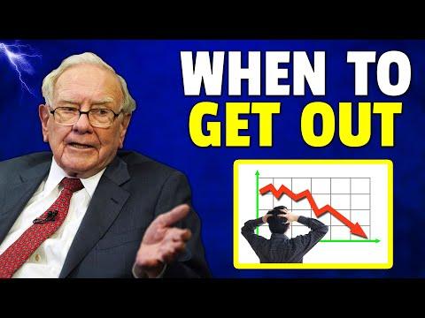 Warren Buffett: Reasons When I Have To Dump Stocks…