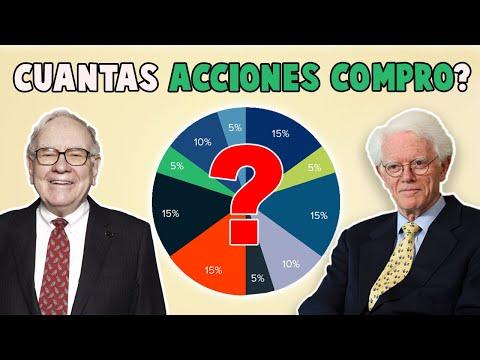 🔥Cuántas ACCIONES deberías COMPRAR para TU CARTERA de INVERSIÓN según Warren Buffett y Peter Lynch