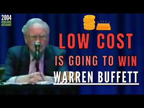 Warren Buffett: It's always a Good Idea to go with a Low-Cost Producer over time | BRK 2004【Ep. 314】
